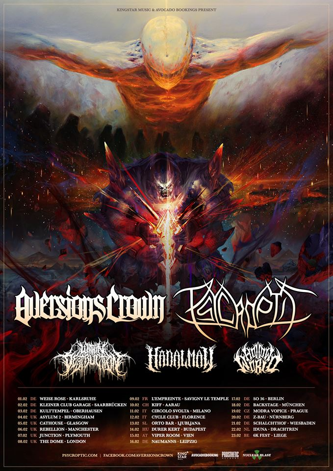 Aversions Crown + Psycroptic