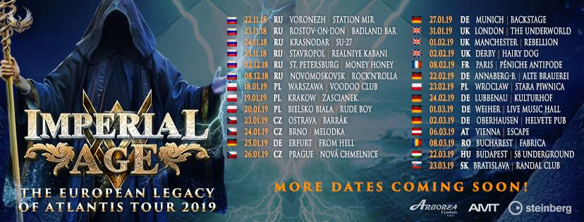 Imperial Age - Tour 2019