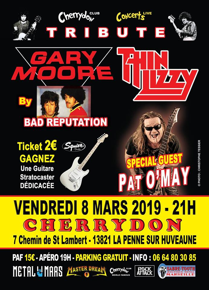 Tribute Thin Lizzy + Pat O May