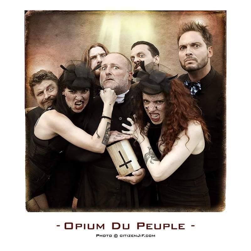 Opium du Peuple + Hate is Back