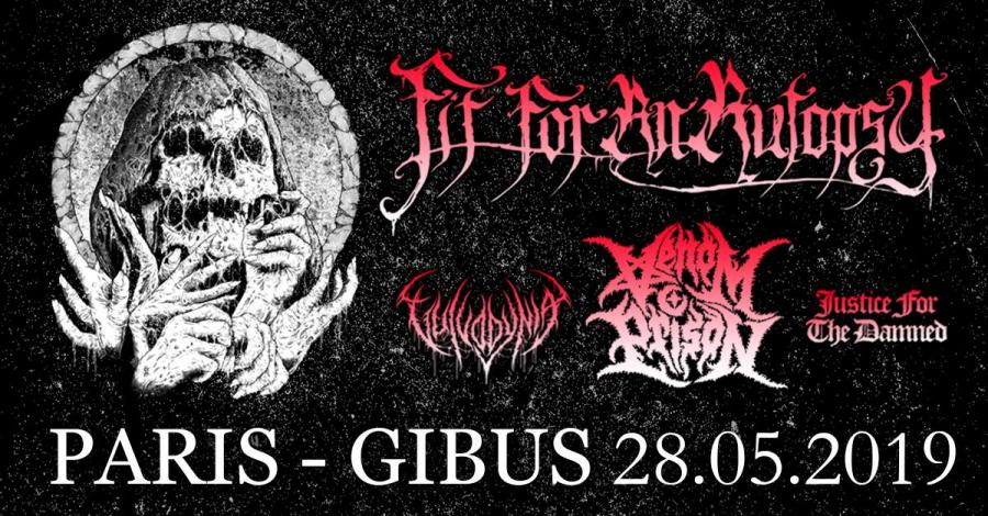 Fit For An Autopsy - Tour 2019