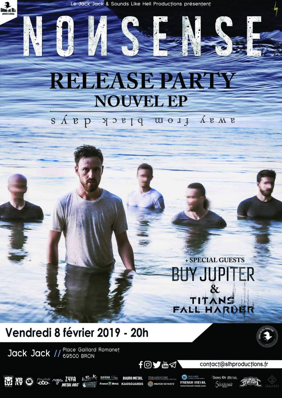 Nonsense (Release Party) + Buy Jupiter +