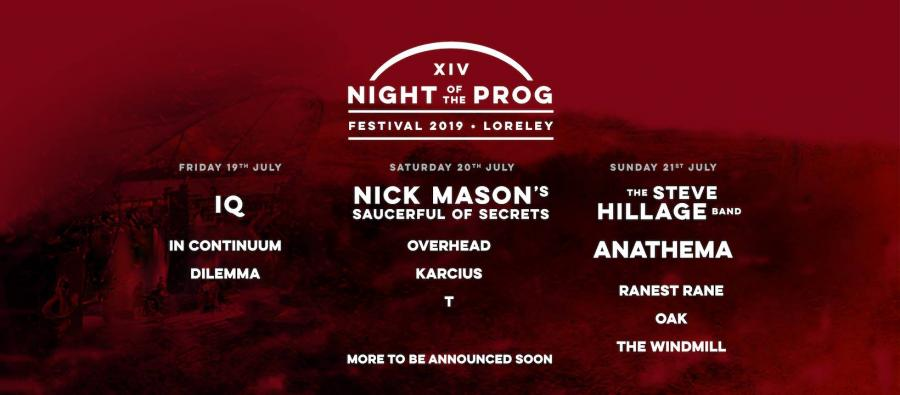 Night of the Prog Fest 2019