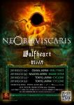 Ne Obliviscaris + Wolfheart +  Death Rattle