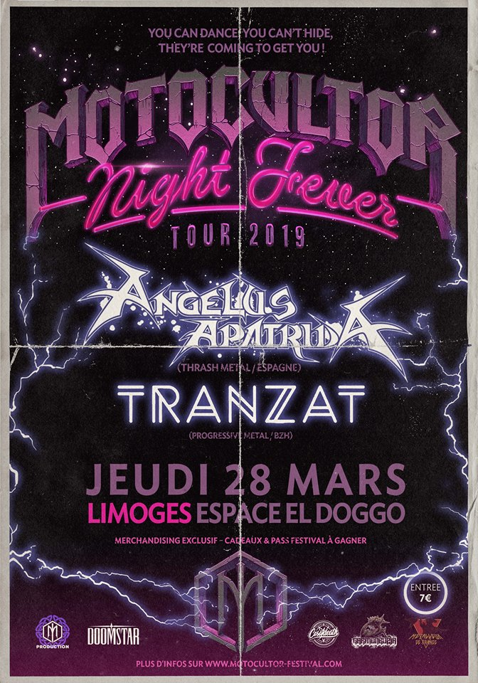 Motocultor Night Fever - Tour 2019