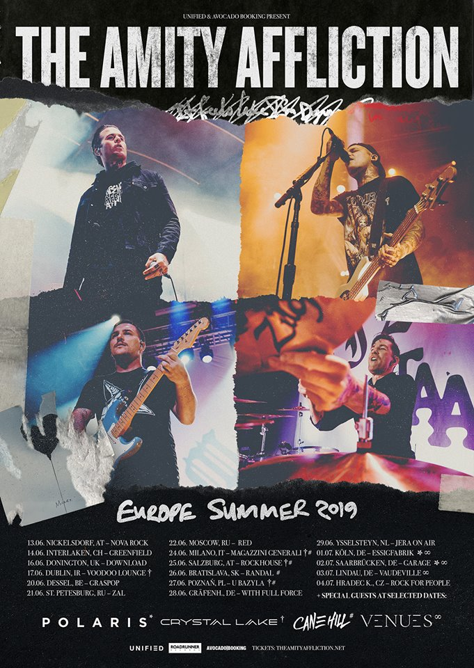 The Amity Affliction - Tour 2019