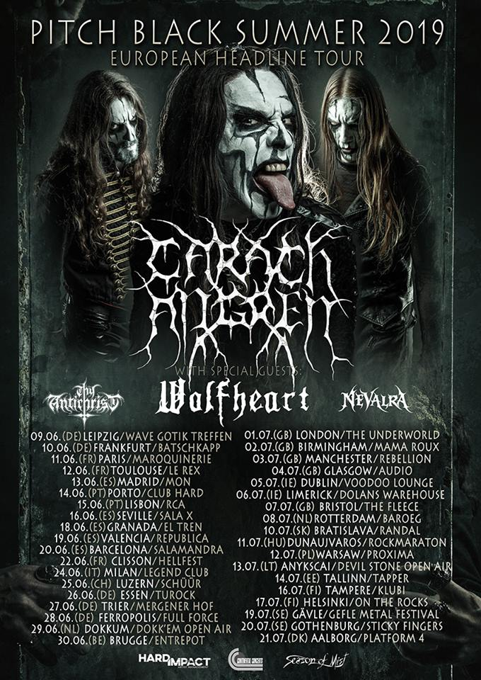 Carach Angren - Pitch Black Summer 2019