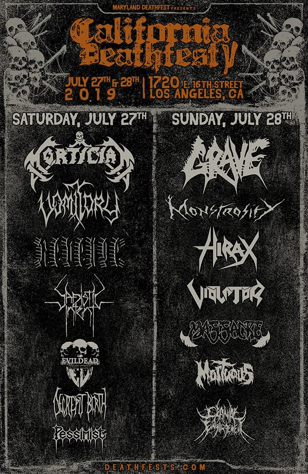 California Deathfest 2019