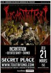 Incantation & Defeated Sanity & Skinned