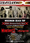 Static-X + Wednesday 13 + Dope