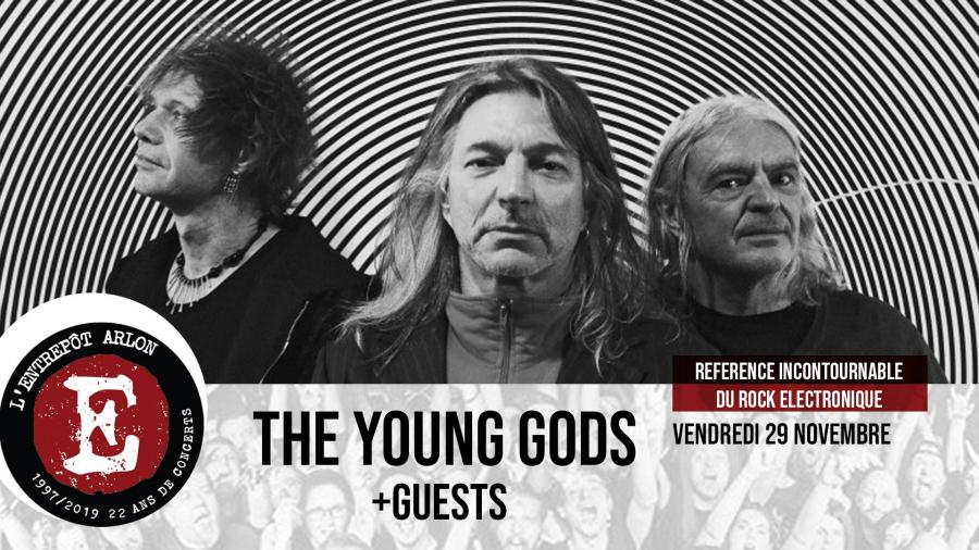 The Young Gods - Tour 2019