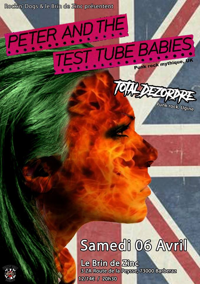Peter and the Test Tube Babies+Total Dezordre
