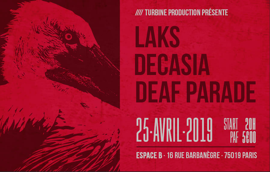 LAKS / Decasia / Deaf Parade