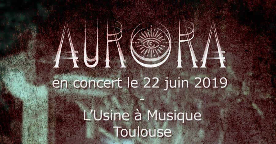 LIVE de Aurora (+Grave Dohl +The Red Browsers)