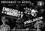 Enraged Minority / Tados / Phlegm