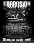 Corrosion Of Conformity - Tour 2019