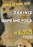 Dakiniz // Maps And Foils