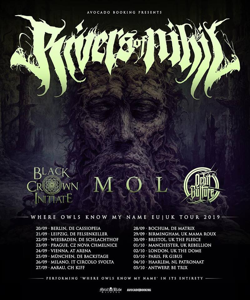 Rivers Of Nihil - Tour 2019