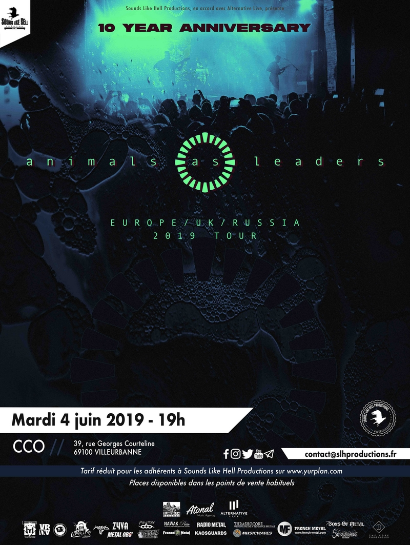 Animals As Leaders - Tour 2019