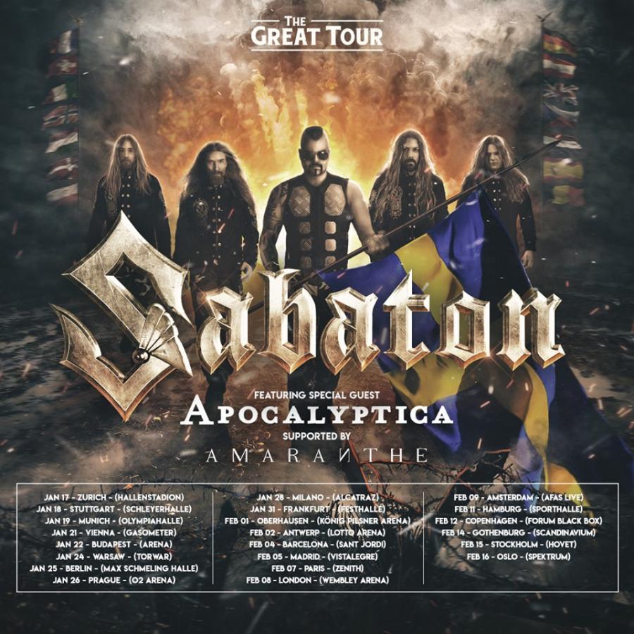 Sabaton 2020