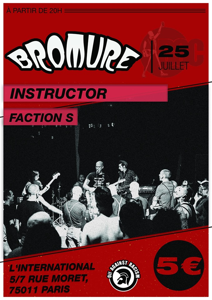 Bromure X Instructor X Faction S