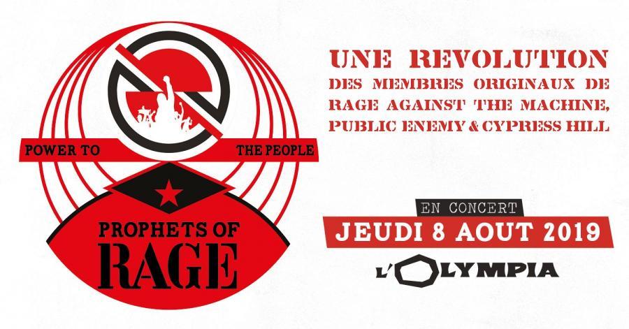 Prophets of Rage - Tour 2019 - 08/08/2019 - Paris - Ile de