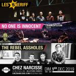Les Sheriff+No One Is Innocent+Rebel Assholes
