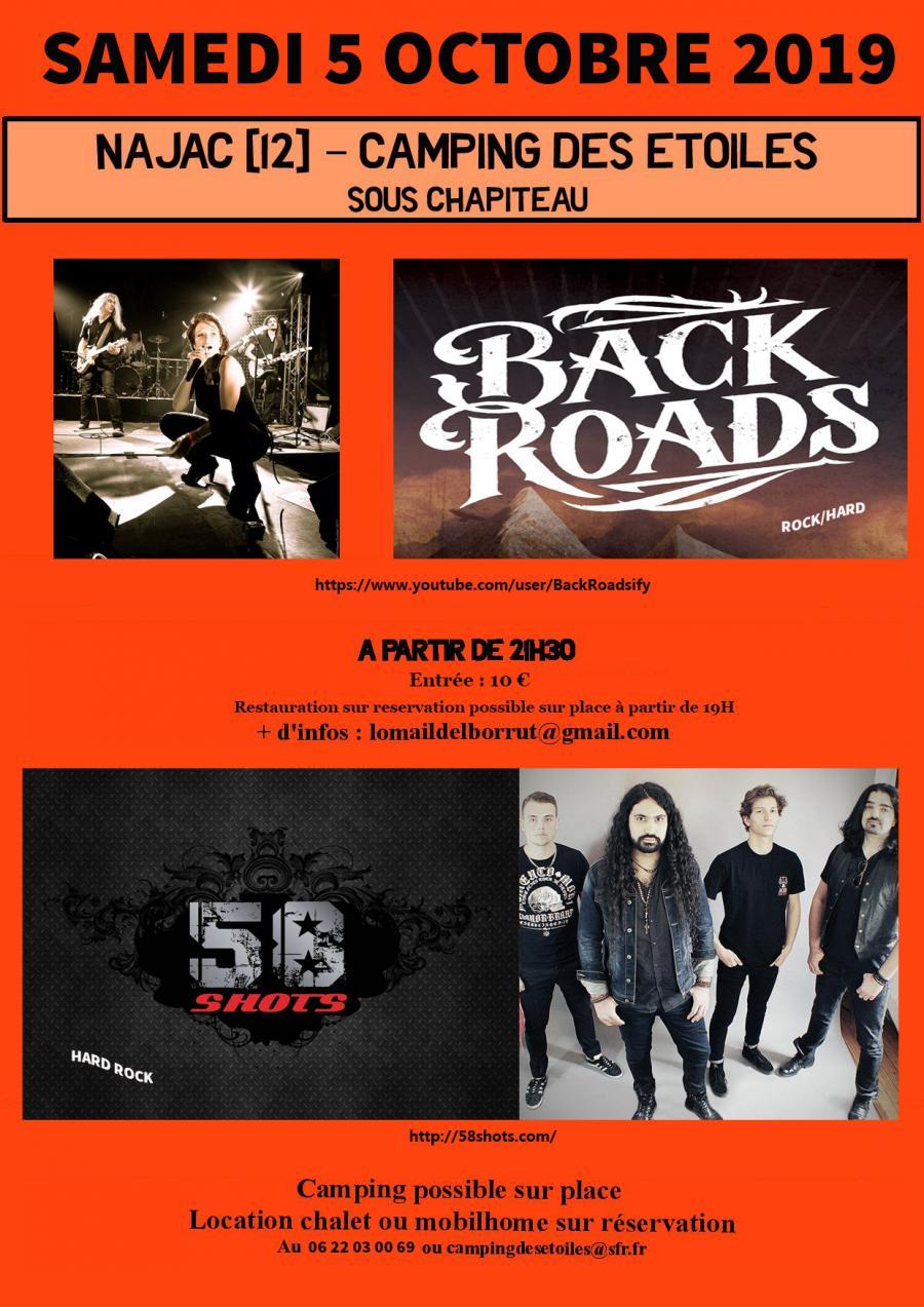 Concert Hard Rock 05102019 Najac Midi Pyrenees