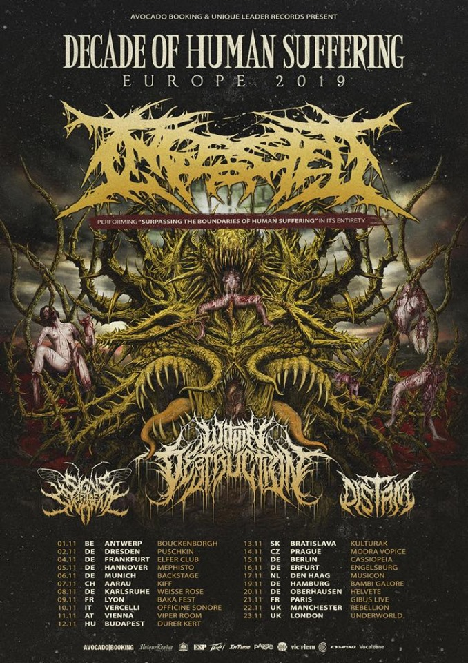 Decade Of Human Suffering Tour 2019