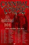 Cannibal Corpse - Tour 2019