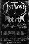 Obituary + Abbath - Tour 2019