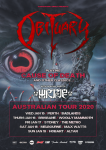 Obituary - Australian Tour 2020
