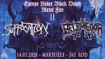 Suffocation + Belphegor + Guests
