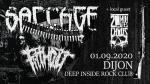 Crust punk party: saccage
