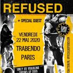 Refused - Euro Tour 2020