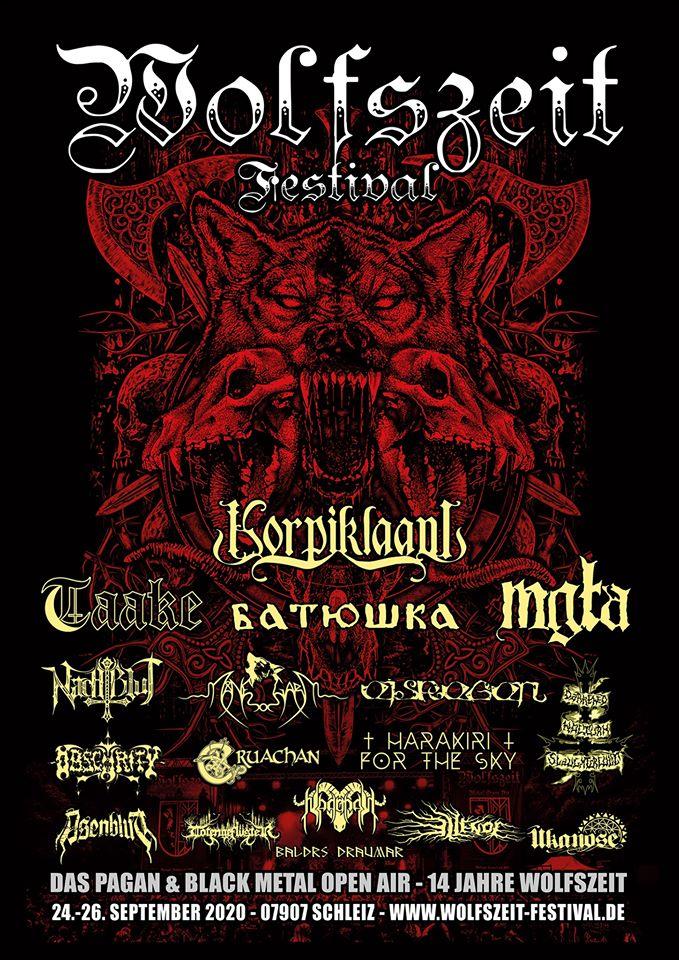 Wolfszeit Festival 2020 - 24/09/2020 (3 jours