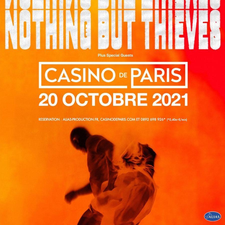 Nothing But Thieves - Tour 2021 - 20/10/2021 - Paris - Ile de France -  France | Agenda Concerts-Metal