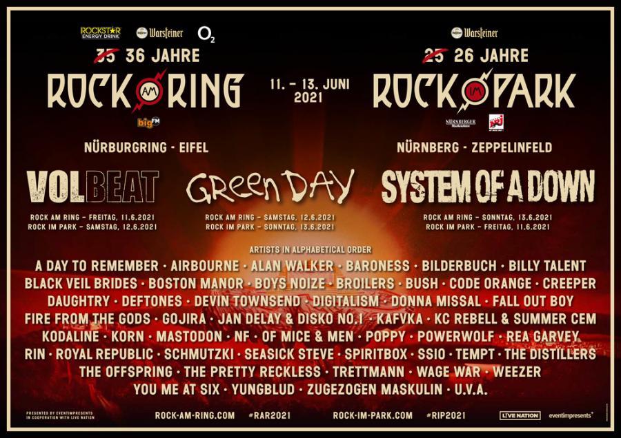 Rock Am Ring Livestream 2021