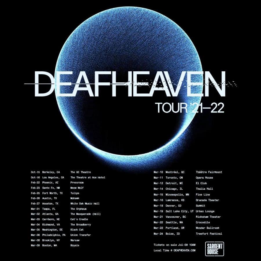 Deafheaven   Tour 20   20/20/20   Berkeley   Vereinigte ...